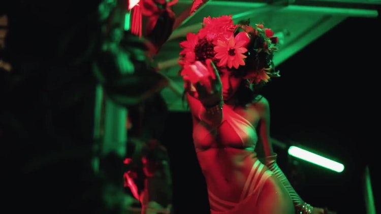 Dancing In Ibiza Night Club: Stock Video