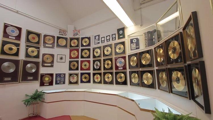 Records Room: Stock Video