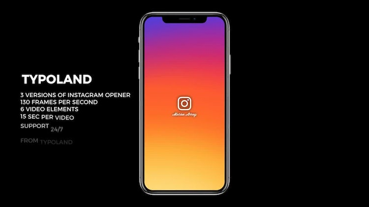 Instagram Story Openers: After Effects Templates