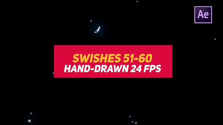Liquid Elements Swishes 51-60: After Effects Templates