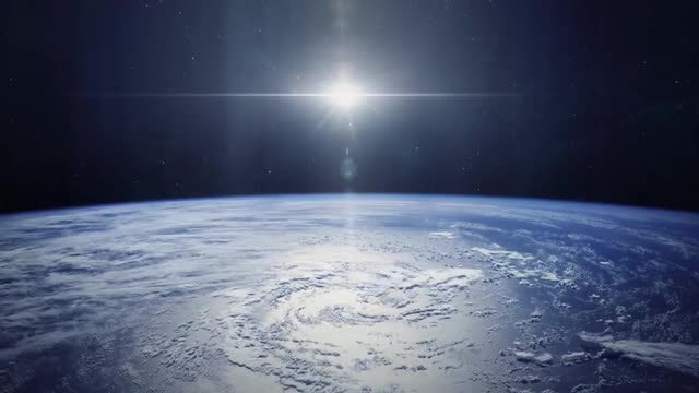 Planet Earth From Orbit: Stock Motion Graphics