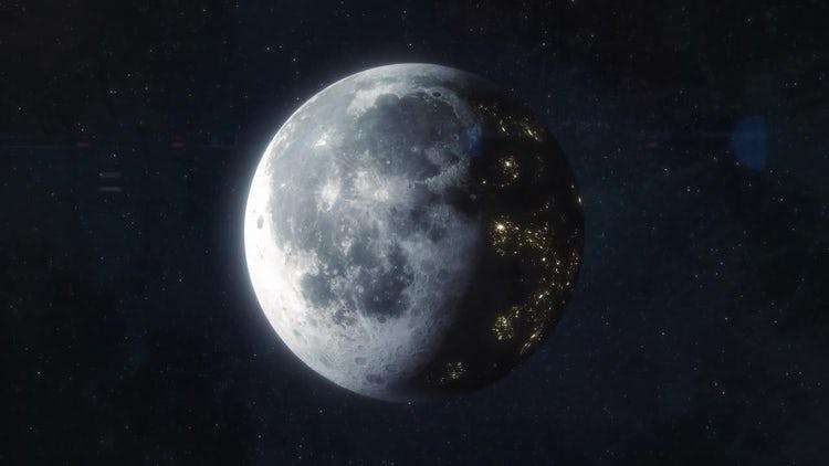 Colonized Moon - Future World: Motion Graphics