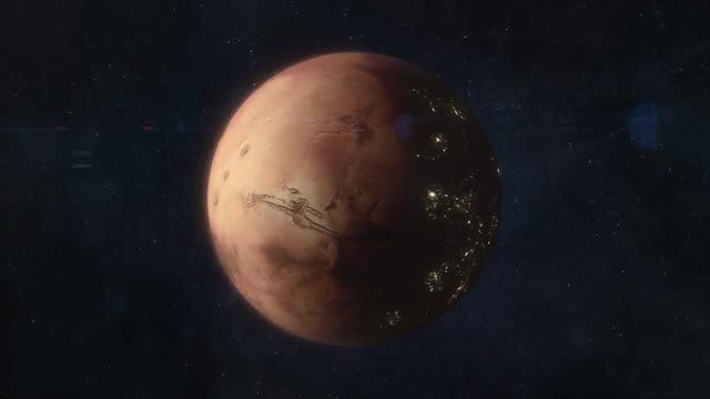 Mars of the Future - Colonized World: Stock Motion Graphics