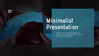 Minimalist & Clean Presentation: After Effects Templates