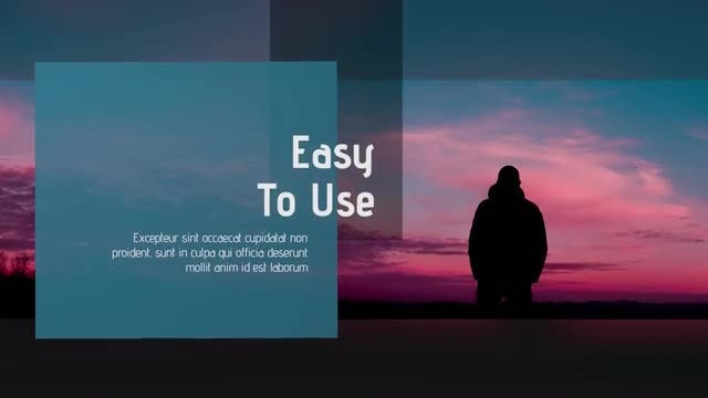 Minimalist & Clean Presentation: Premiere Pro Templates