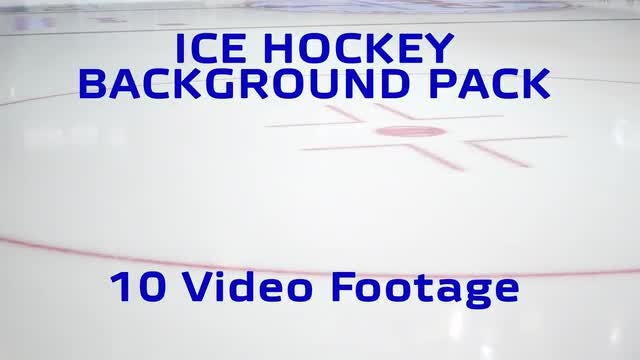 Ice Hockey Background pack: Stock Video