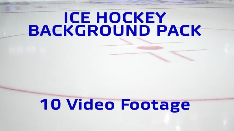 Ice Hockey Background pack: Stock Video