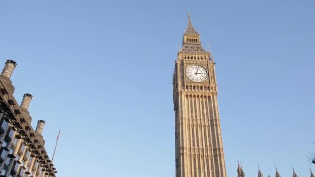 Big Ben In London: Stock Video