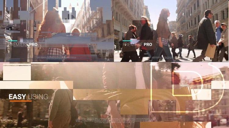 Modern Glitch Opener: Premiere Pro Templates
