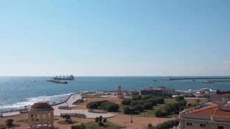Livorno, Italy Establishing Shot: Stock Video