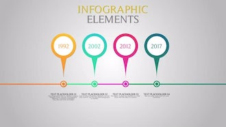 Infographic Elements: Motion Graphics Templates