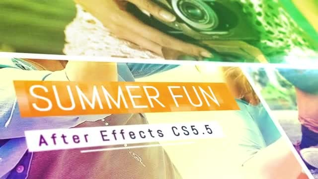 Summer Fun: After Effects Templates