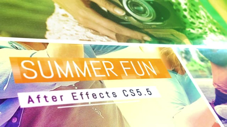 Summer Fun: After Effects Templates