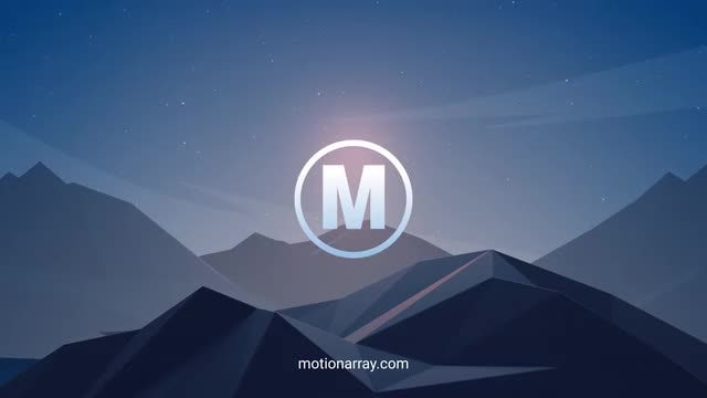 Mountain Logo: After Effects Templates
