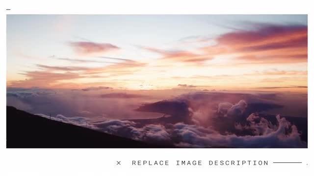 Minimal & Elegant Slideshow: After Effects Templates