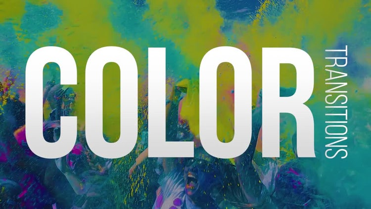 Colorful Transitions: Premiere Pro Templates