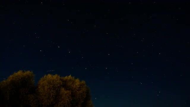 Night Sky Time Lapse: Stock Video