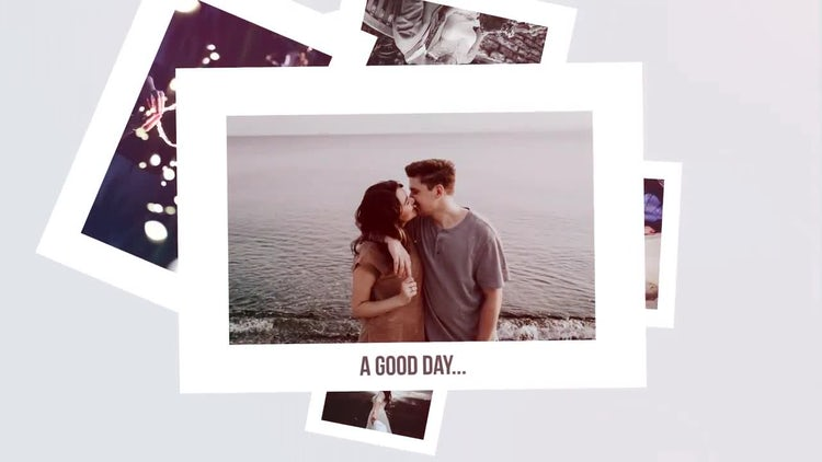 Clean Romantic Slideshow. Wedding Memories.: Premiere Pro Templates