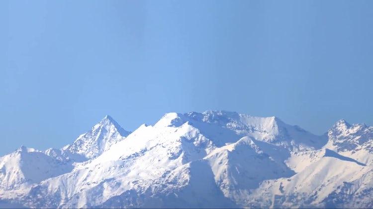 Alps Mountain Range : Stock Video