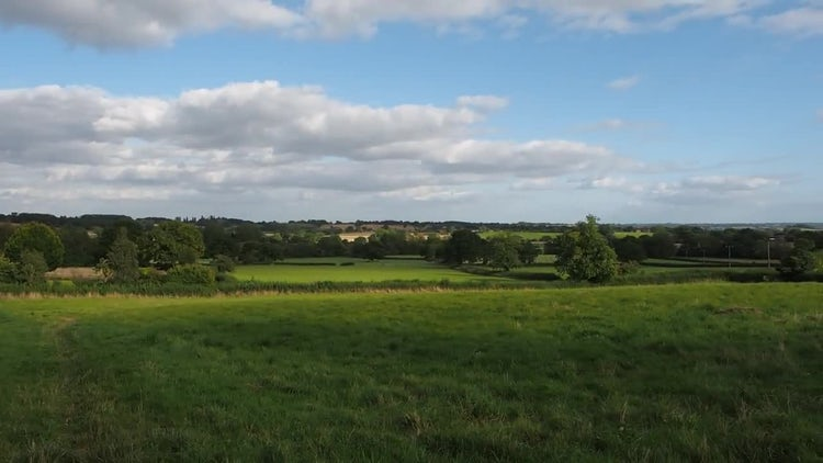English Countryside In Tanworth, Arden: Stock Video