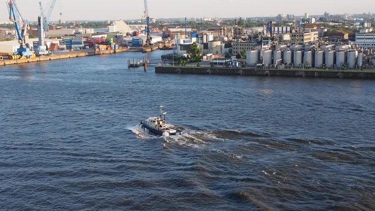 Hamburger Hafen (Port Of Hamburg): Stock Video