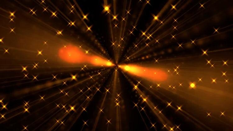 Orange Sun Stars: Stock Motion Graphics