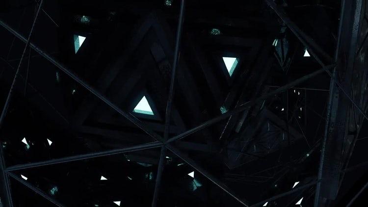 Alien Engine Loop V1: Motion Graphics