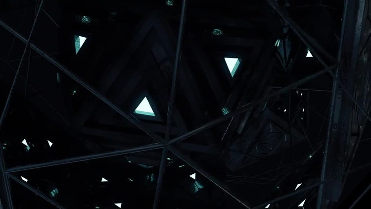 Alien Engine Loop V1: Stock Motion Graphics