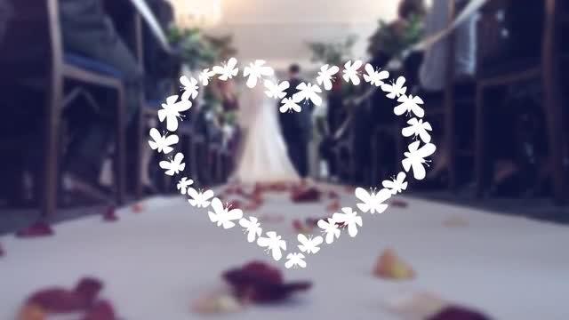 Wedding Vintage : Stock Motion Graphics
