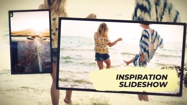 Inspiration Memories Slideshow: After Effects Templates