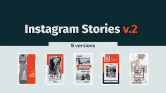Instagram Stories v.2: After Effects Templates