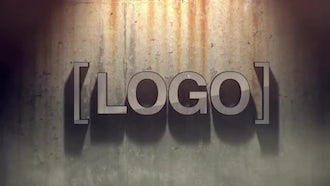 Grunge Logo: After Effects Templates