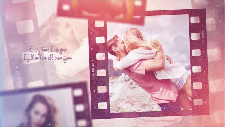 Film Strip Memories: After Effects Templates