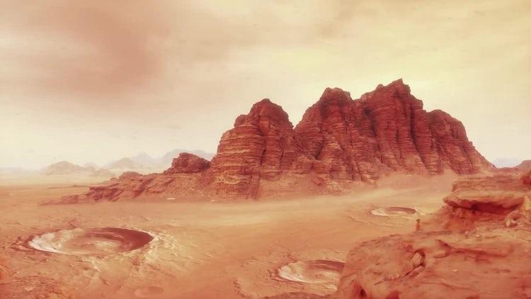 Mars Landscape One: Motion Graphics