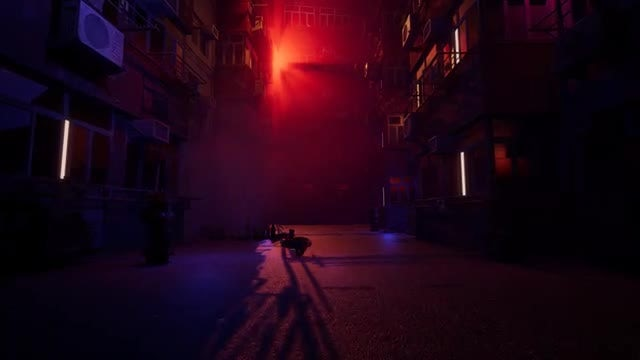 Eerie Street: Stock Motion Graphics