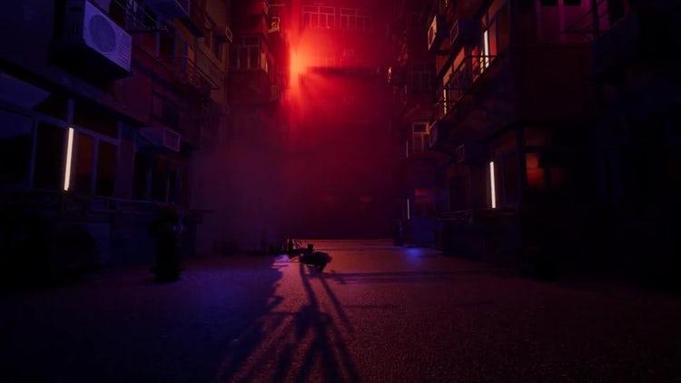 Eerie Street: Stock Motion Graphics