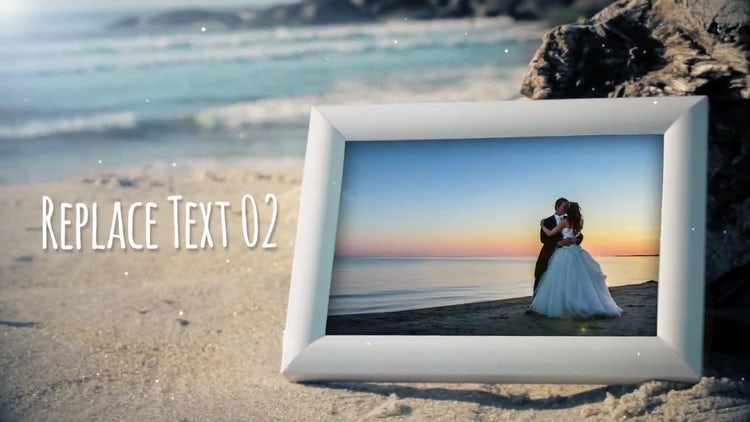 Beach Photo Gallery: After Effects Templates