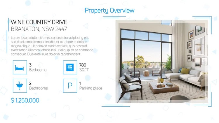 Real Estate Presentation 3: After Effects Templates