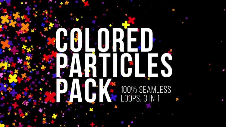 Floral Particles Pack: Stock Motion Graphics