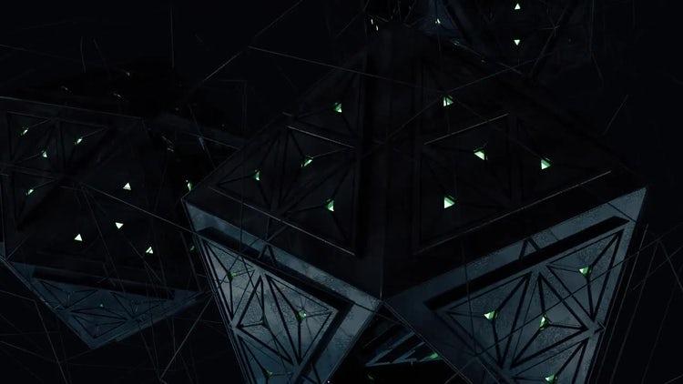 Alien Engine Loop V3: Stock Motion Graphics