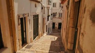 Alfama, Lisbon, Portugal: Stock Video