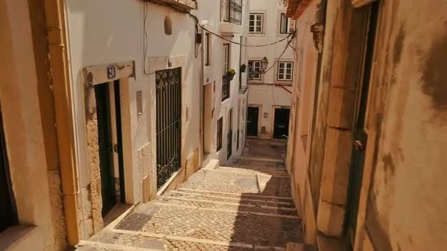 Alfama, Lisbon, Portugal: Stock Video