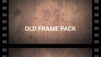 Retro Cine Reel Frames Pack (Vertical): Motion Graphics