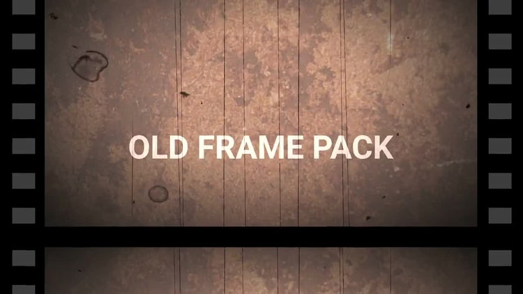 Retro Cine Reel Frames Pack (Vertical): Motion Graphics