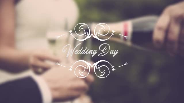 Wedding Titles: Premiere Pro Templates