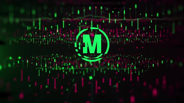 Charts Economic Logo Reveal: After Effects Templates
