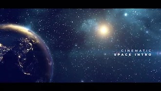 Earth Planet Titles: After Effects Templates