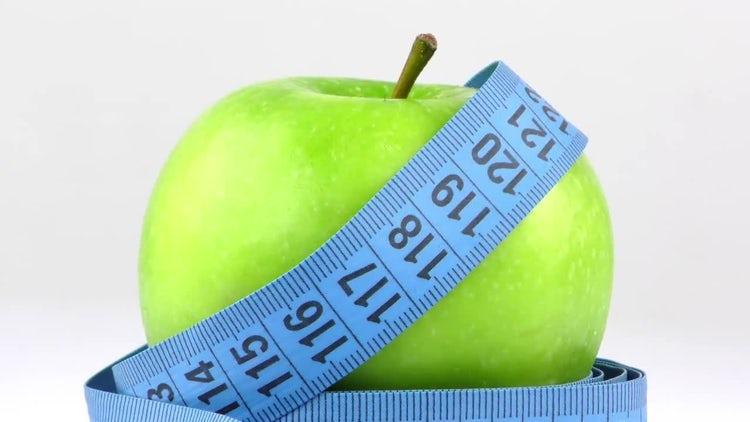 Apple Measurement: Stock Video