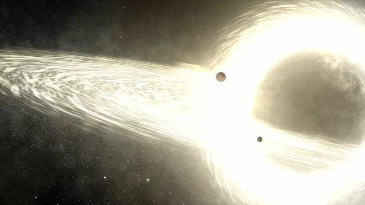 Black Hole: Stock Motion Graphics