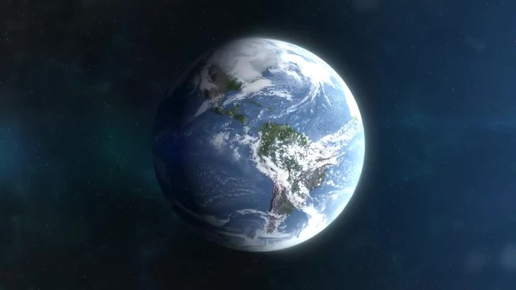 Planet Earth Weather Timelapse: Motion Graphics